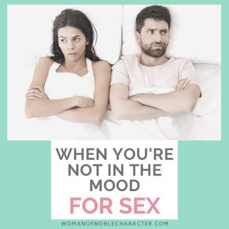 7 tips for when you aren't in the mood for sex