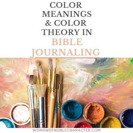 FI Color theory for Bible journaling
