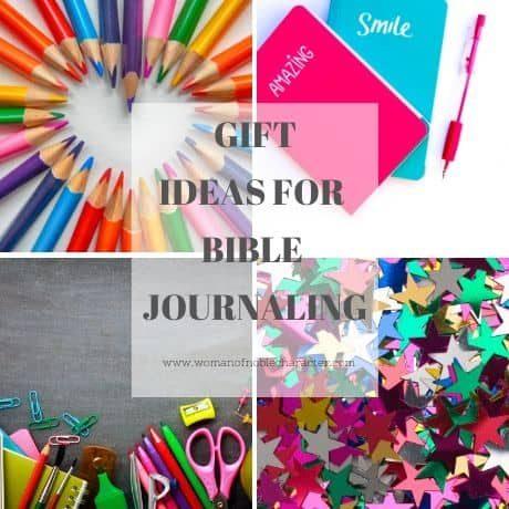Bible journaling gift ideas