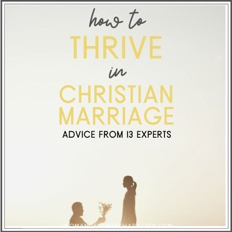 advice on Christian marriage