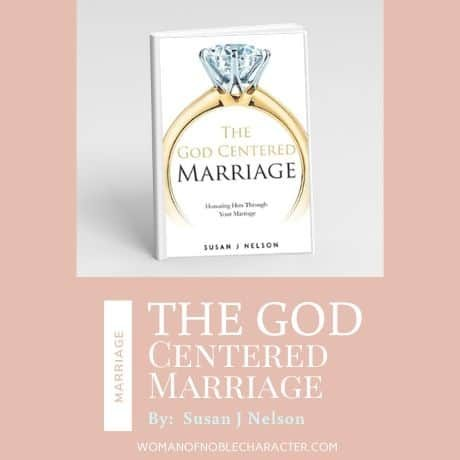 The God Centered Marriage Book by Susan J Nelson