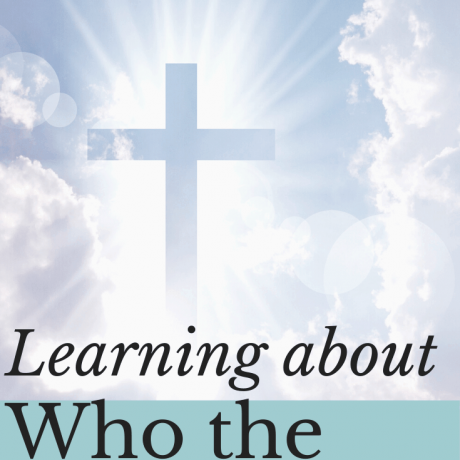 Cross in clouds; who is the Holy Spirit