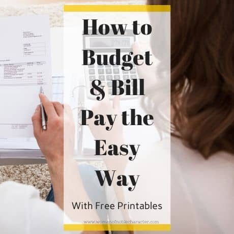 How to Budget & Bill Pay the Easy Way