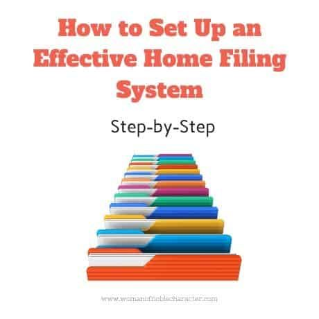 How to Set Up an Effective Home Filing System