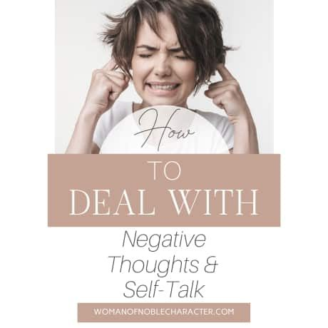 How to Deal with Negative Thoughts and Self-Talk
