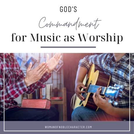 two men singing and guitar playing, music as worship