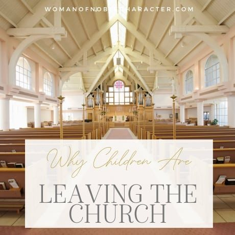 Why Children Are Leaving the Church