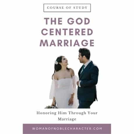 The God Centered Marriage Course