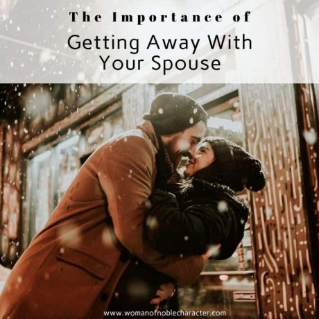 getting away with your spouse