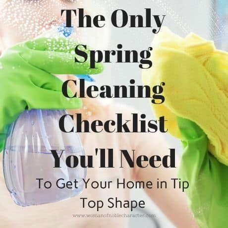 The Only Spring Cleaning Checklist You'll Need