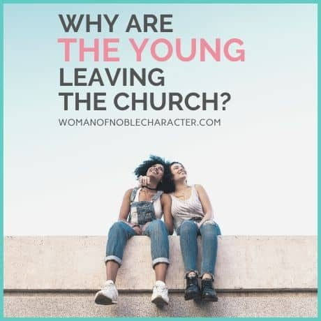 children leaving the church