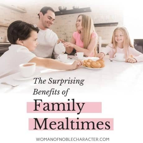 benefits of family mealtimes