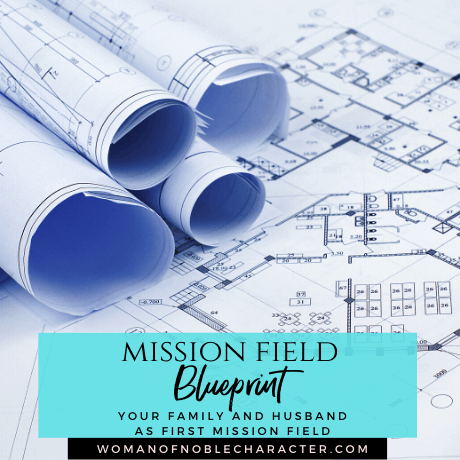mIssion field blueprint your husband and family as your first mission field
