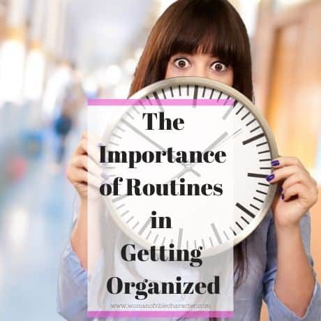 routines to get organized